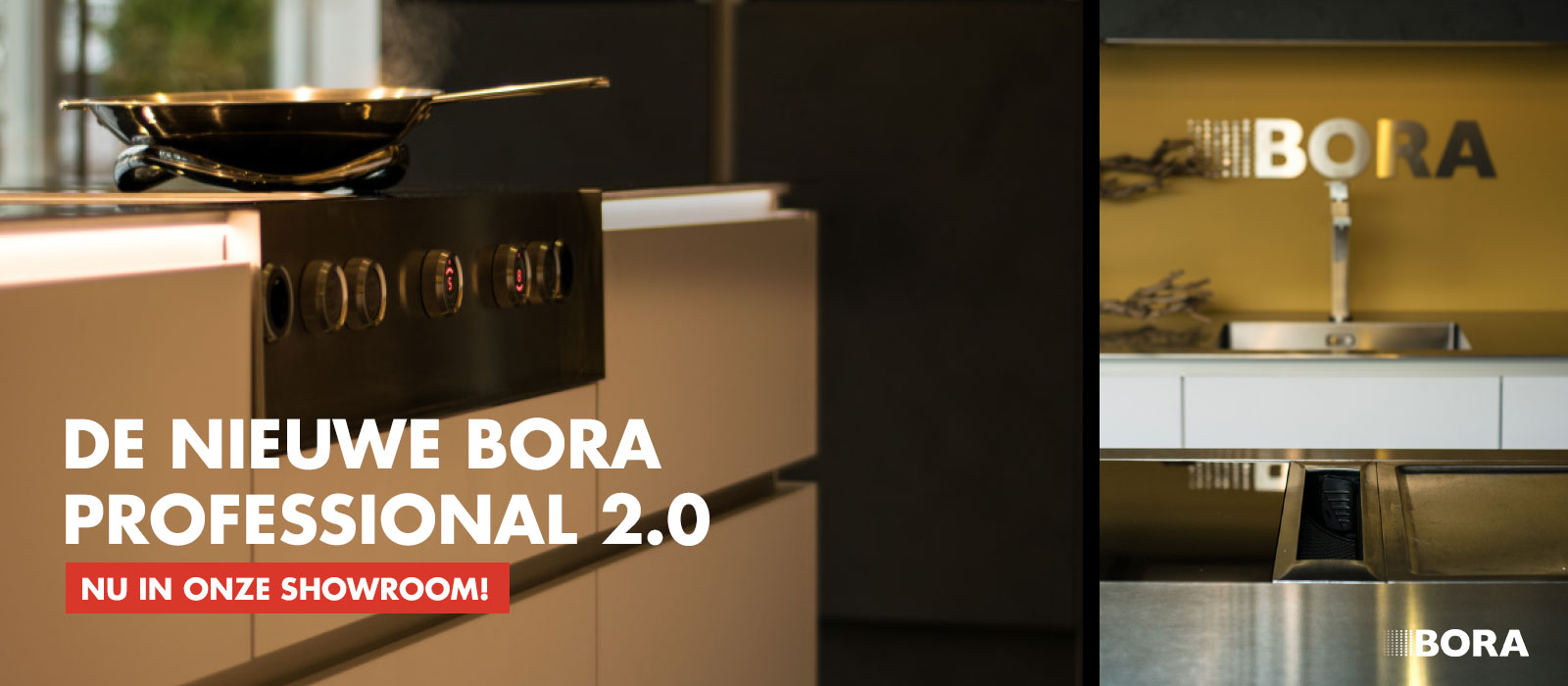 Bora Professional 2.0 afzuigsysteem