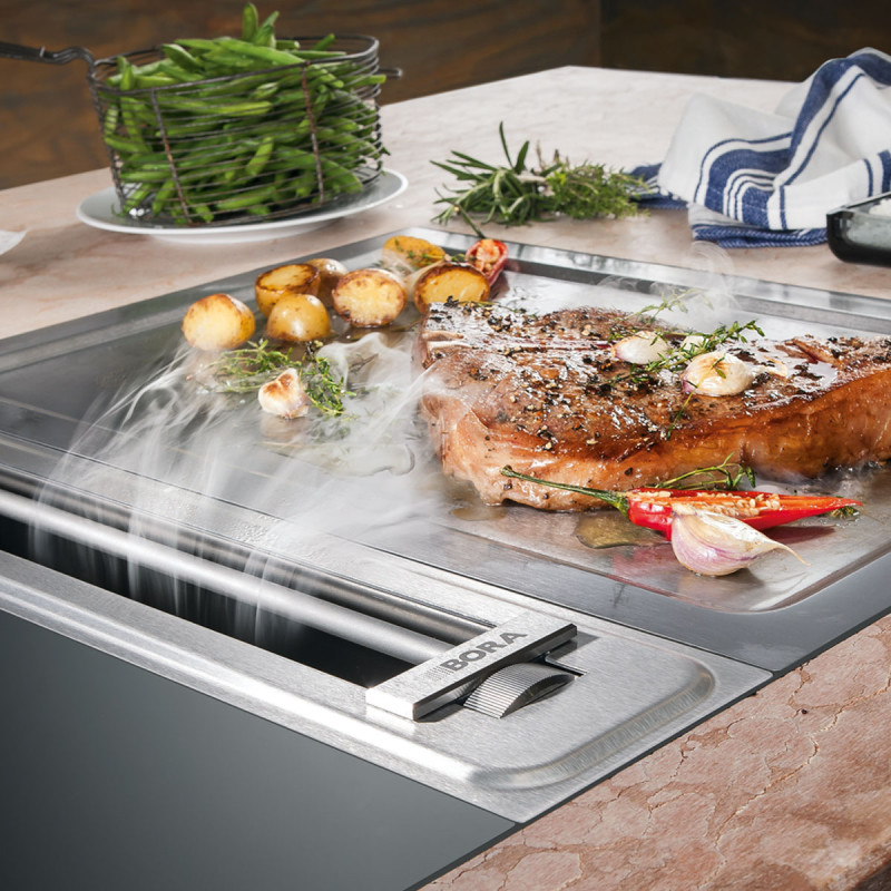 Bekijk het BORA afzuigsysteem bij Weeteling Keukens