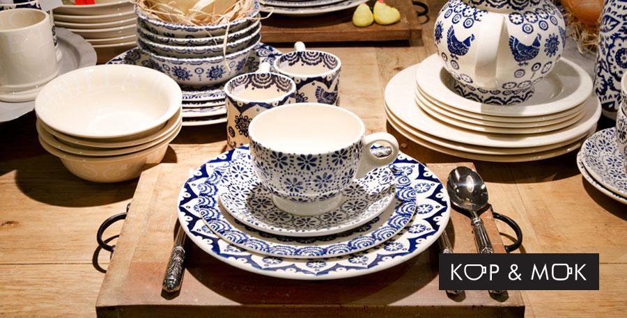 Servies, accessoires en meubels bij Kop & Mok